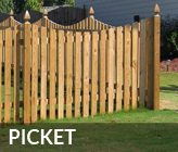 Atlanta Picket Fence