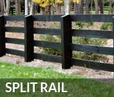 Atlanta Split Rail Fence